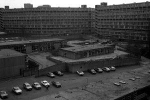 Park Hill flats, Sheffield, (c) Damon Fairclough 1987