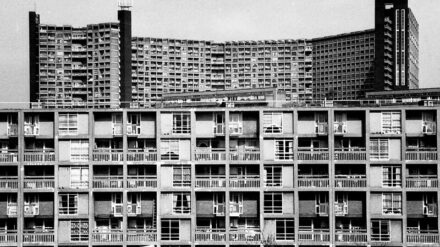 Park Hill flats, Sheffield, (c) Damon Fairclough 1987 (3)