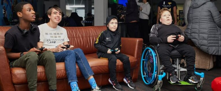 """""""No-one sees the disability."""" Nicola Jones from gaming charity Everyone Can"""