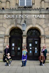 Queen_s Hall cast photo credit Jonathan Bradley