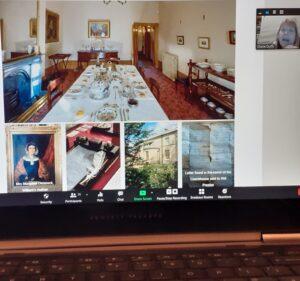 Elizabeth Gaskell's House online tour - Dining Room