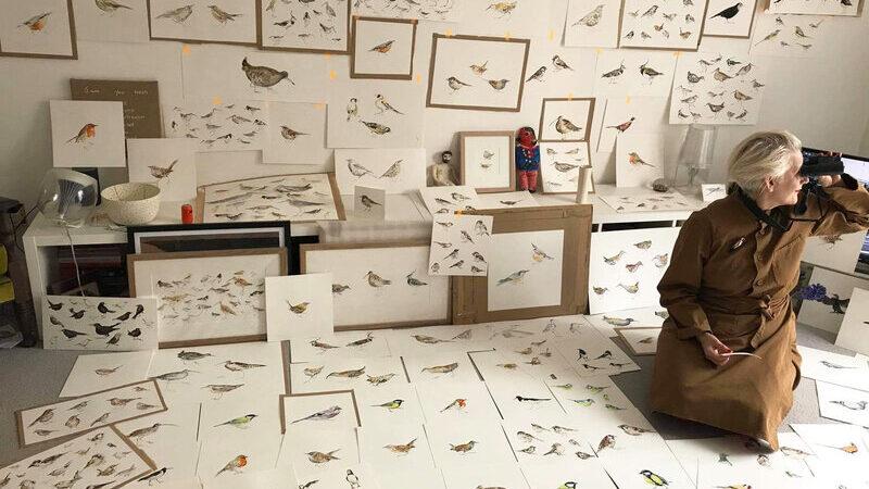 Susan Platt lockdown birding for cb press