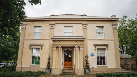 Elizabeth Gaskell's House. Credit: Mark Tattersall