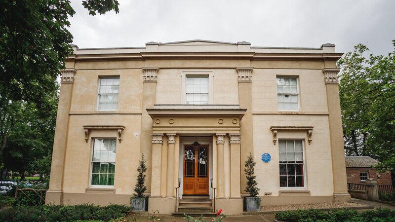 Elizabeth Gaskell's House. Credit: Mark Tattersall