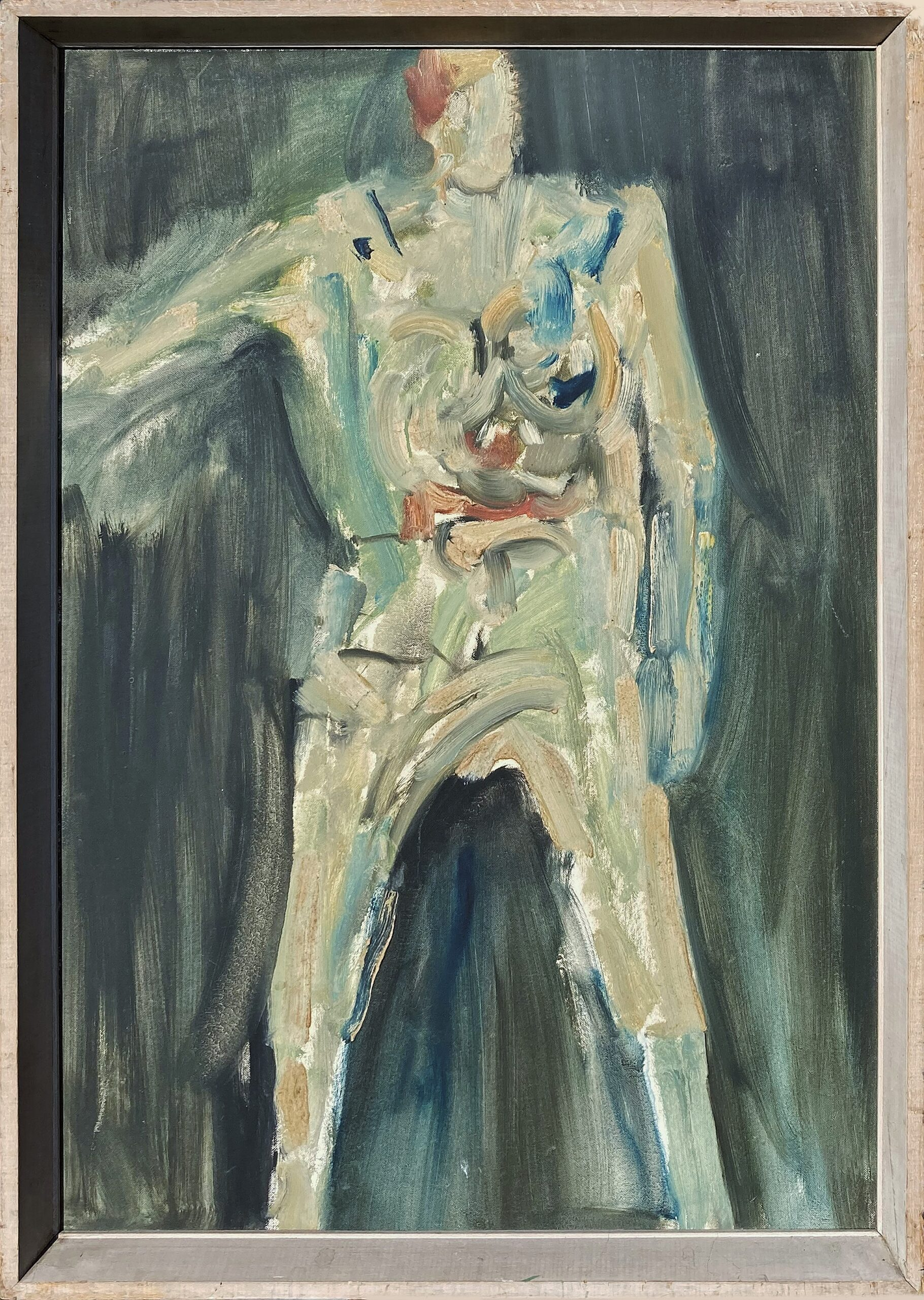 Clown, Bob Crossley, 1961, Castlegate House Gallery