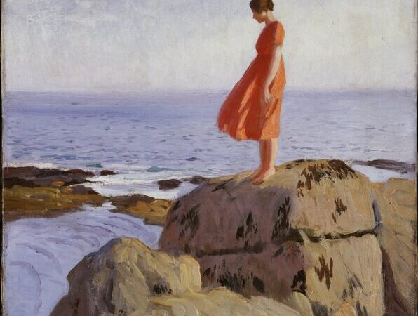 A Dark Pool , c.1917 (oil on canvas) by Laura Knight (1877-1970) / Laing Art Gallery, Newcastle-upon-Tyne, UK / © Tyne & Wear Archives & Museums © Reproduced with permission of The Estate of Dame Laura Knight DBE RA 2020. All Rights Reserved / Bridgeman Images