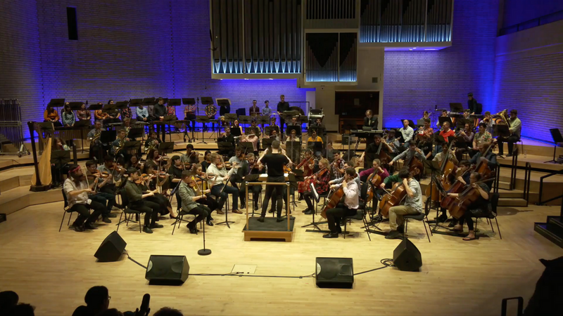 the original 'From Console to Concert Hall' performance from 2019