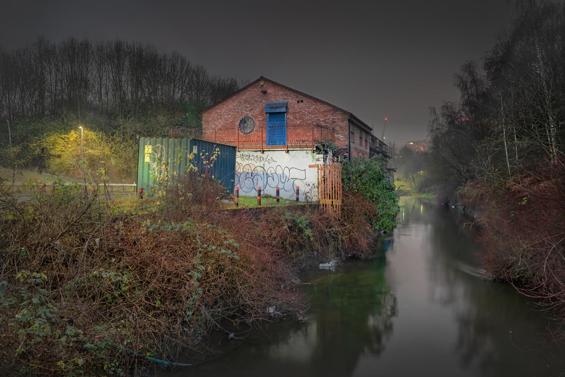 Simon Buckley, River Irk, 4.20pm