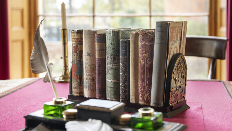 A selection of Cranford editions at Elizabeth Gaskell's House