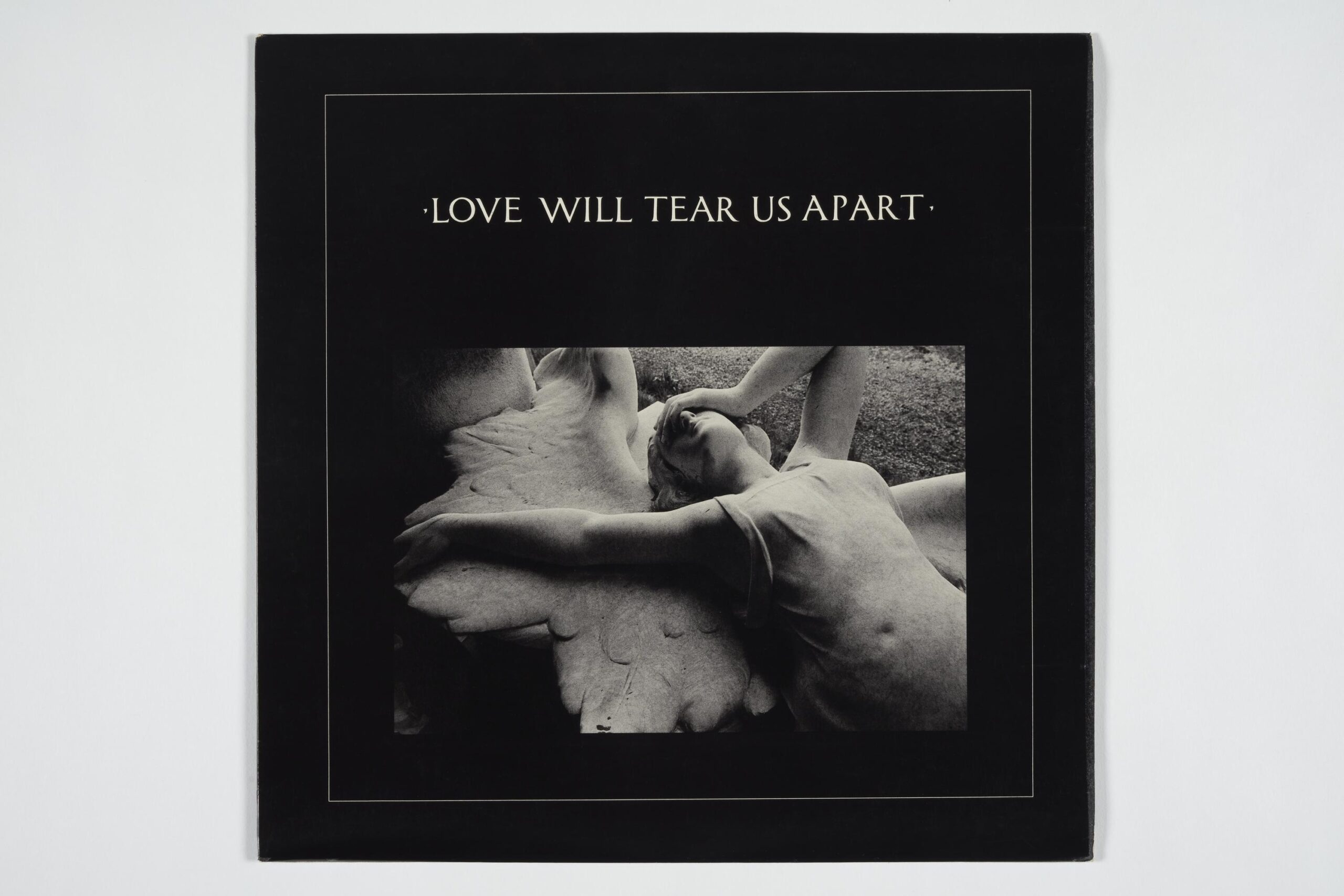 """Fac 23 - Joy Division - Love Will Tear Us Apart 12"""" single in picture sleeve. Copyright Contact Details © The Board of Trustees of the Science Museum"""
