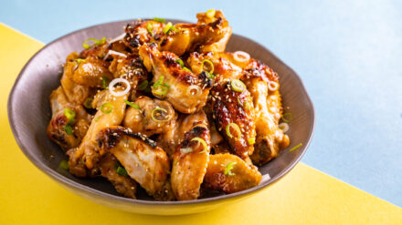Miso and Honey Chicken Wings