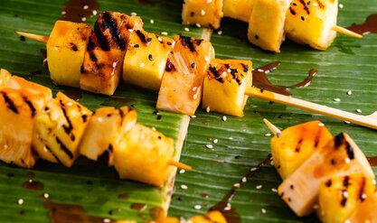 Spicy Jackfruit and Pineapple Skewers 2