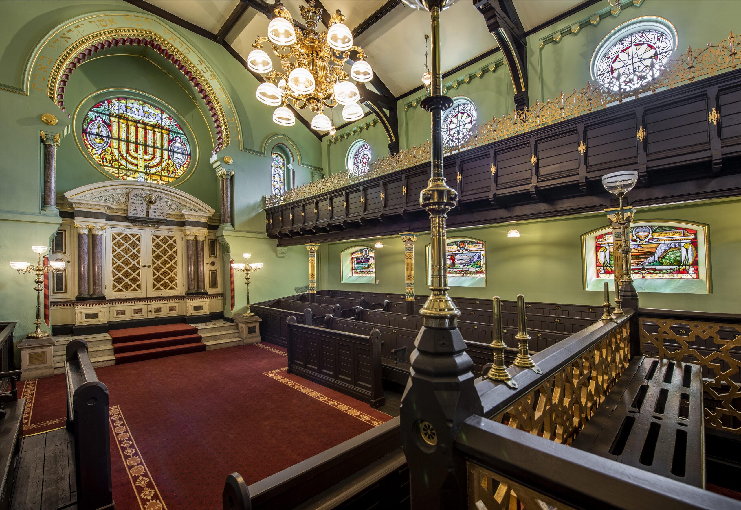 Joel Chester Fildes, Manchester Jewish Museum Synagogue, 2021