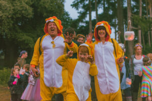 Lion family at Just So Festival 2021, credit Wild Rumpus