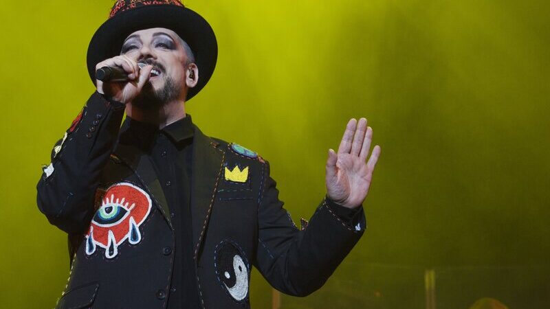 Boy George and Culture Club taken at Scarborough Open Air Theatre. Marc McGarraghy (www.yellowmustang.co.uk)