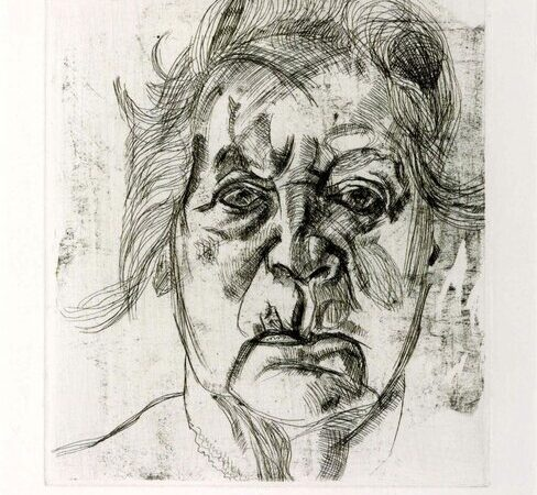 Lucian Freud, The Painter's Mother 1982 © Tate