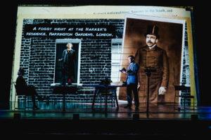 Adela Rajnovic,Riana Duce & Matt Prendergast - imitating the dog & Leeds Playhouse - Dracula The UntoId Story - Photo Ed Waring