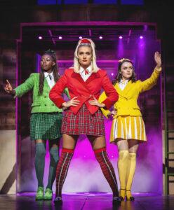 L-R Merryl Ansah, Maddison Firth & Lizzie Parker - Heathers UK Tour 2021 - Photos by Pamela Raith (14)