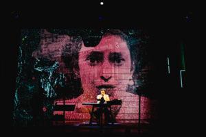 Riana Duce - imitating the dog & Leeds Playhouse - Dracula The Untold Story - Photo by Ed Waring