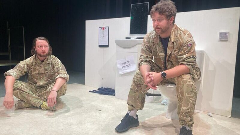 Letter to Boddah. Images courtesy of Ilkley Playhouse