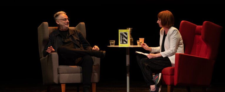 Review: Paul Morley in conversation with LoneLady, Manchester Literature Festival, HOME, Manchester