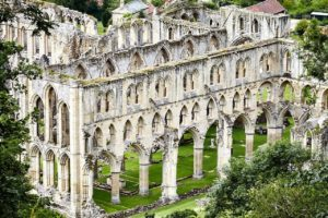Rievaulx Abbey in Helmsley, Yorkshire