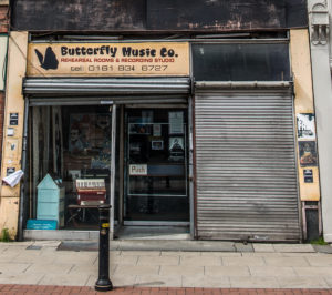 Butterfly Music Co, Manchester, by Chris Payne