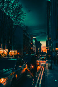 Deansgate Sidestreet, image by Pete Alderson