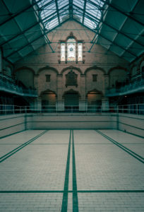 Empty Pool, Victoria Baths, image by Paul Feeley