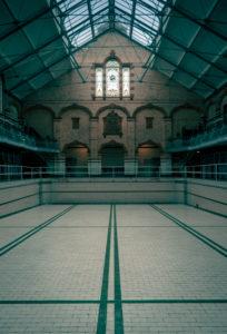 Empty Pool, Victoria Baths, image by Paul Feeley