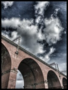 Stockport viaduct, image by Jill Taylor