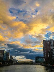 Sky over Media City, image by Jay Cain