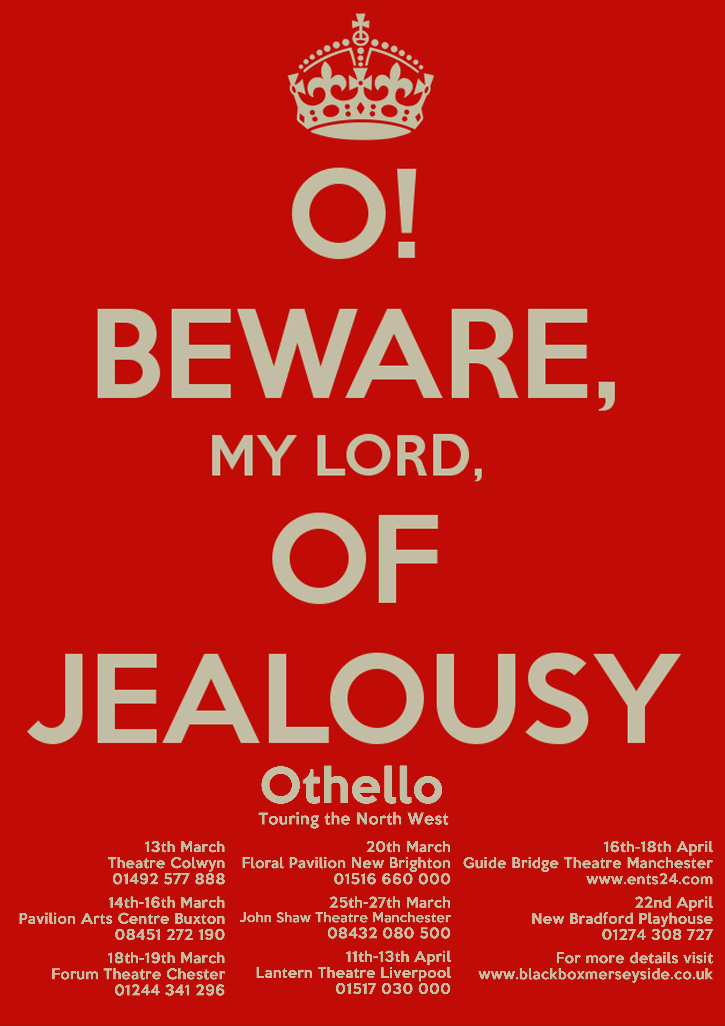 Othello, keep calm