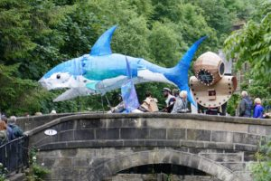 Over Bridge, Handmade Parade, image by Rebecca Greenwood