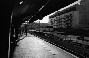Evenings at Oxford Road Train Station, image by James Giblin (@jtgiblin)