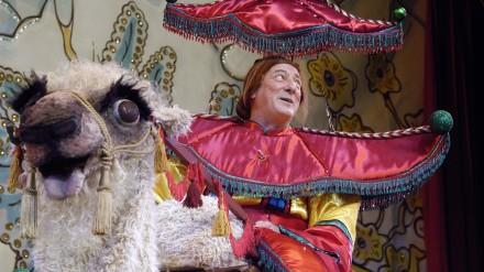 Berwick Kaler as Widow Twankey - The Lad Aladin
