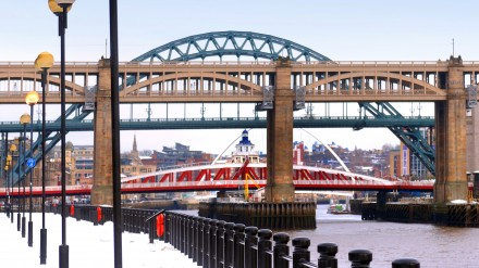 Newcastle Quayside Bridges