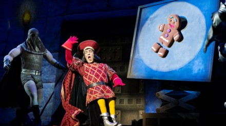 Gerard Carey (Lord Farquaad). Image by Helen Maybanks.