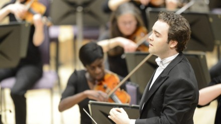 Jamie Phillips conducting c. Russell Hart March 13