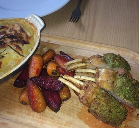 Rack of lamb by Chef Tony