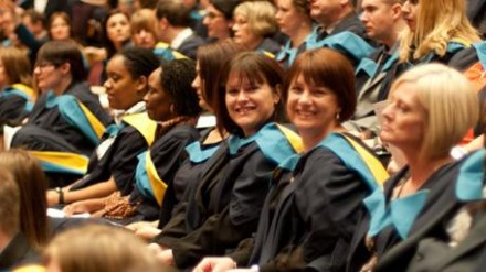 Open University ceremony