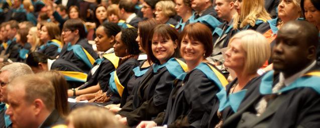 Open University ceremony
