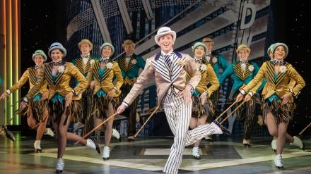 Top Hat - Leeds Grand Theatre Alan Burkitt & Ensemble Photo by Max Lacome-Shaw