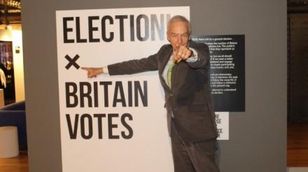 Jon Snow opens Election! Britain Votes