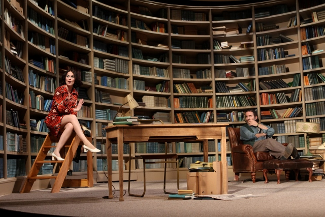 Leanne Best and Con O'Neill in Educating Rita at Liverpool Playhouse