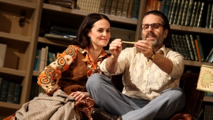 Leanne Best and Con O'Neill in Educating Rita at Liverpool Playhouse (c) Stephen Vaughan