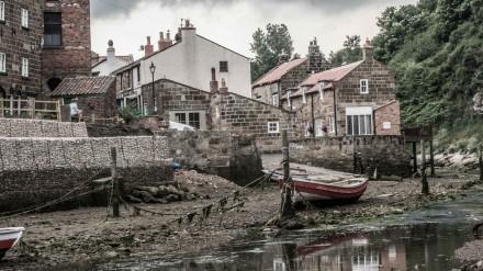 Staithes estuary 2 by Chris Payne