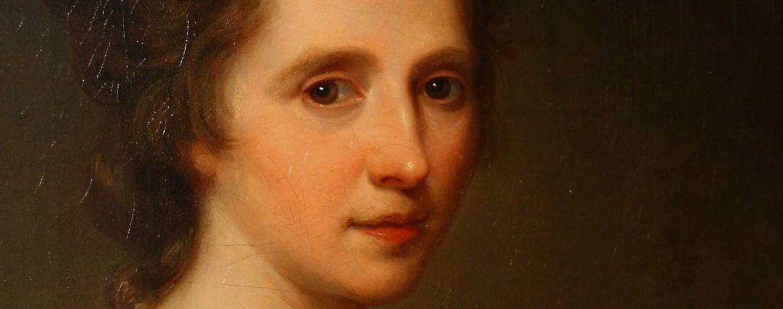 Self-portrait. Angelica Kauffmann, c.1770-75 © Matthew Graham