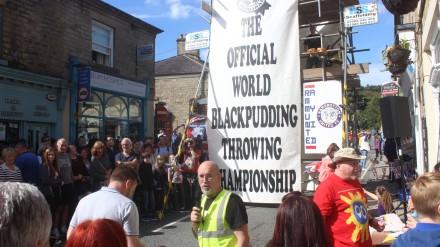 Ramsbottom's World Black Pudding Throwing Championships