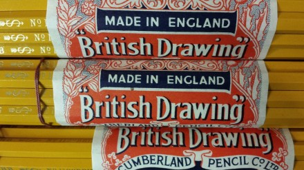British Drawing Pencils